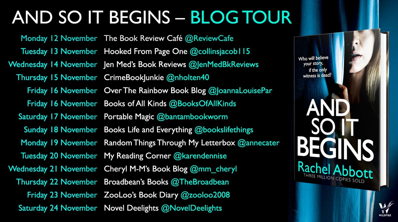 #BookReview of And So It Begins by Rachel Abbott @RachelAbbott @annecater @Bookish_Becky  #AndSoItBegins