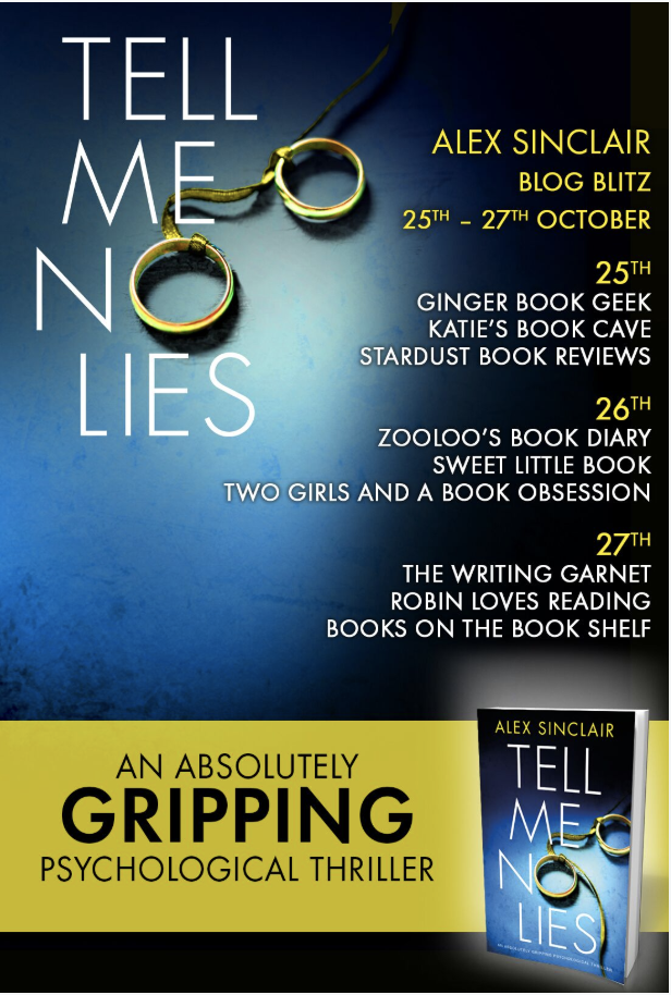 #BookReview of Tell Me No Lies by Alex Sinclair @ASinclairAuthor @nholten40 @bookouture