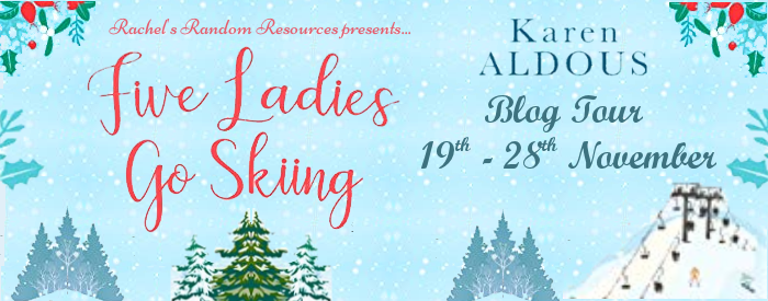 Win 5 x Paperback copies of Five Ladies Go Skiing (UK Only