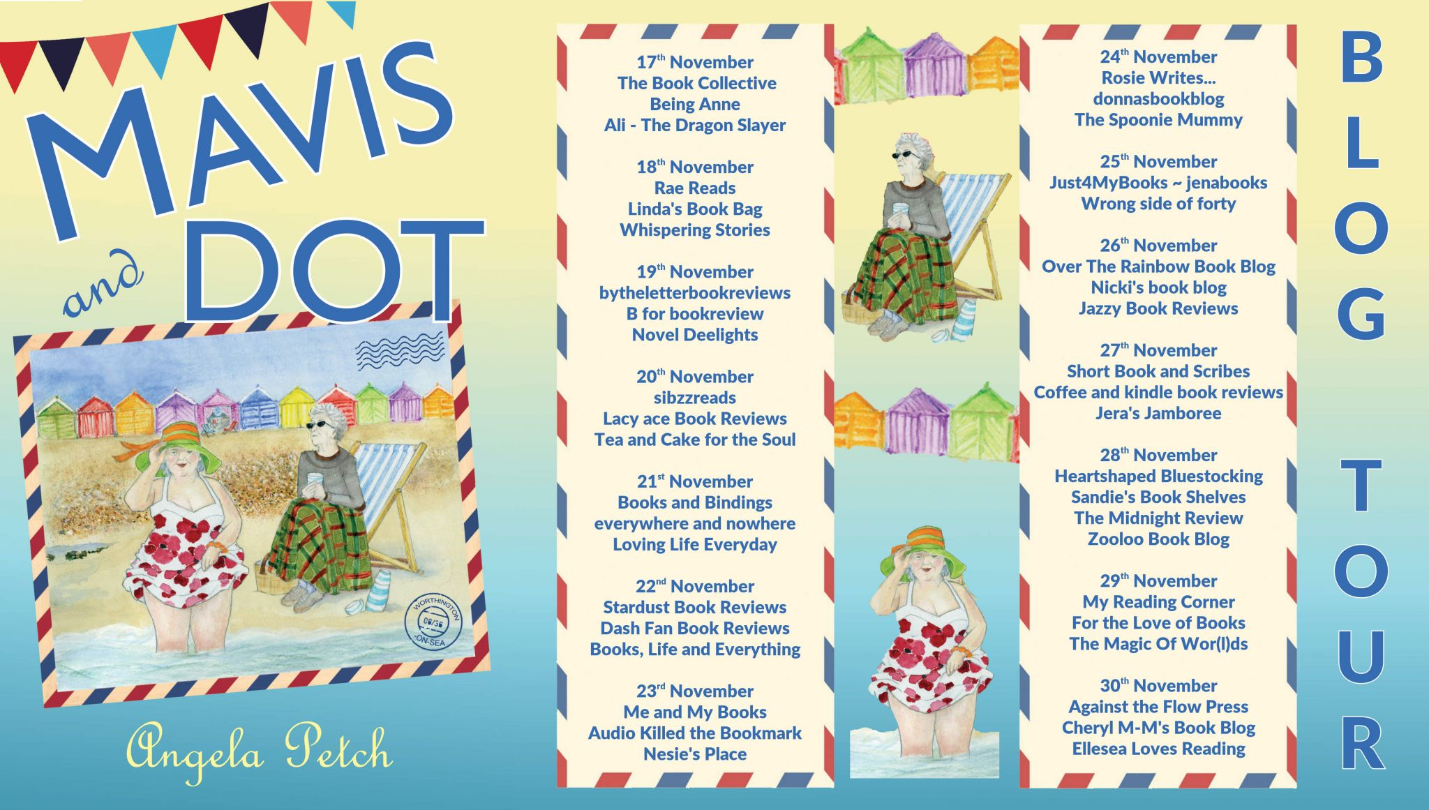***#BookBlitz of Mavis and Dot by Angela Petch @Angela_Petch @rararesources