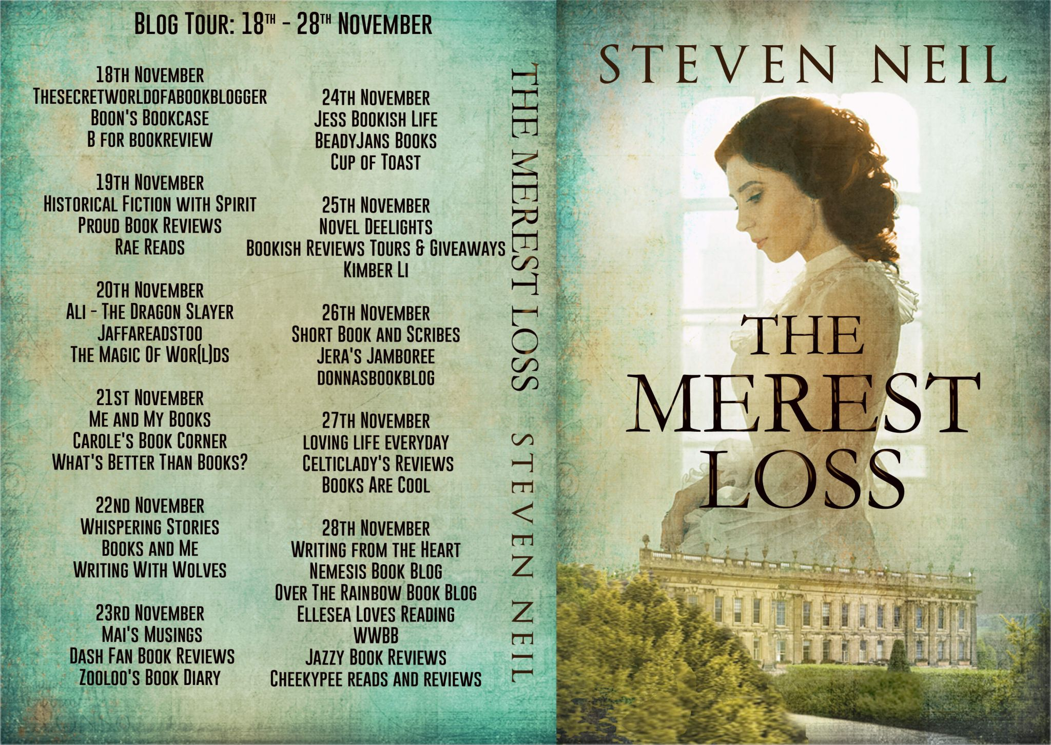#BookReview of The Merest Loss by Steven Neil @stevenneil12 @rararesources