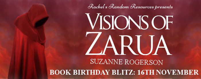 Win 3 x Paperback Copies of Visions of Zarua (Open Internationally)