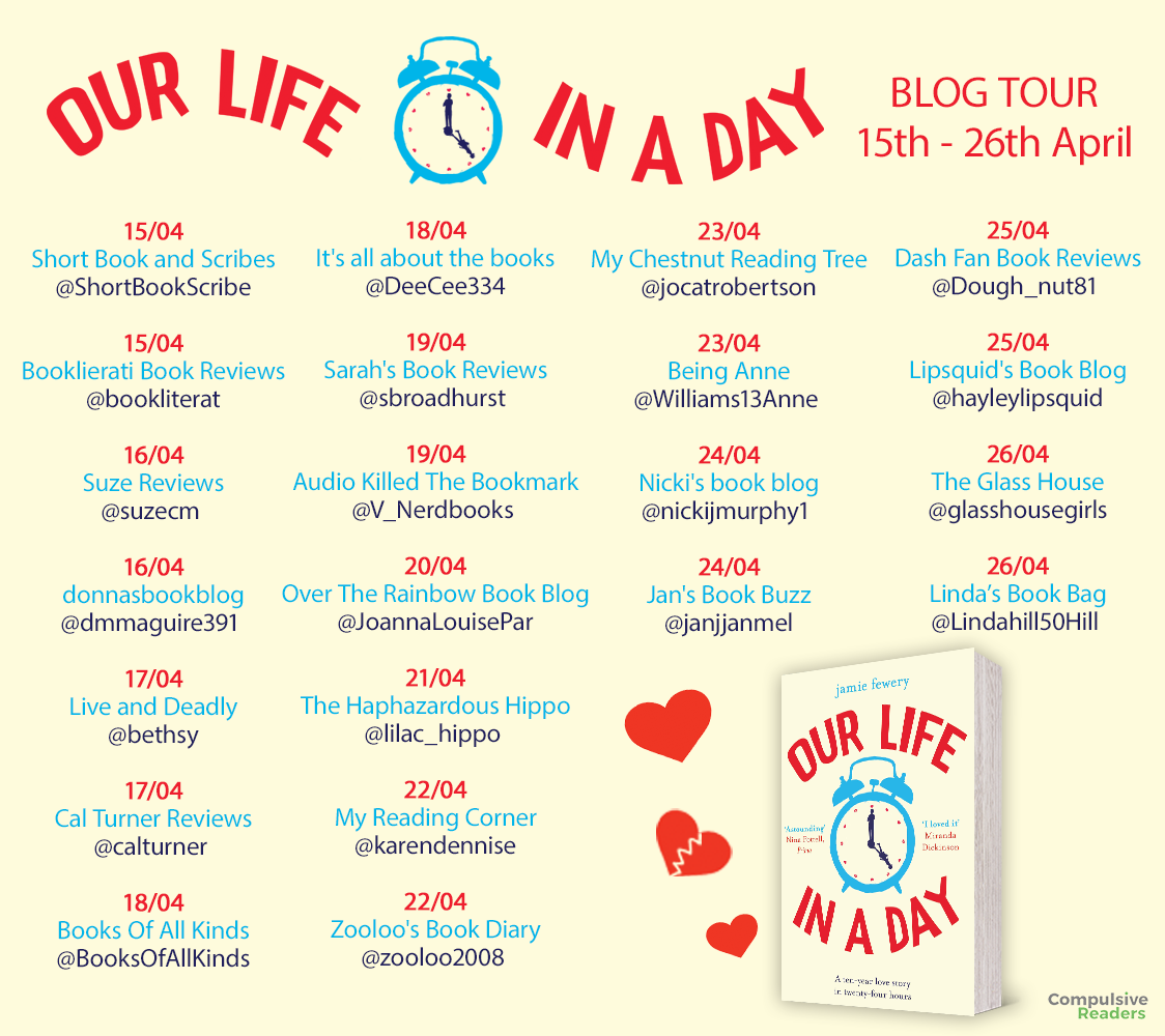 ***#BookReview of Our Life in a Day @Tr4cyF3nt0n