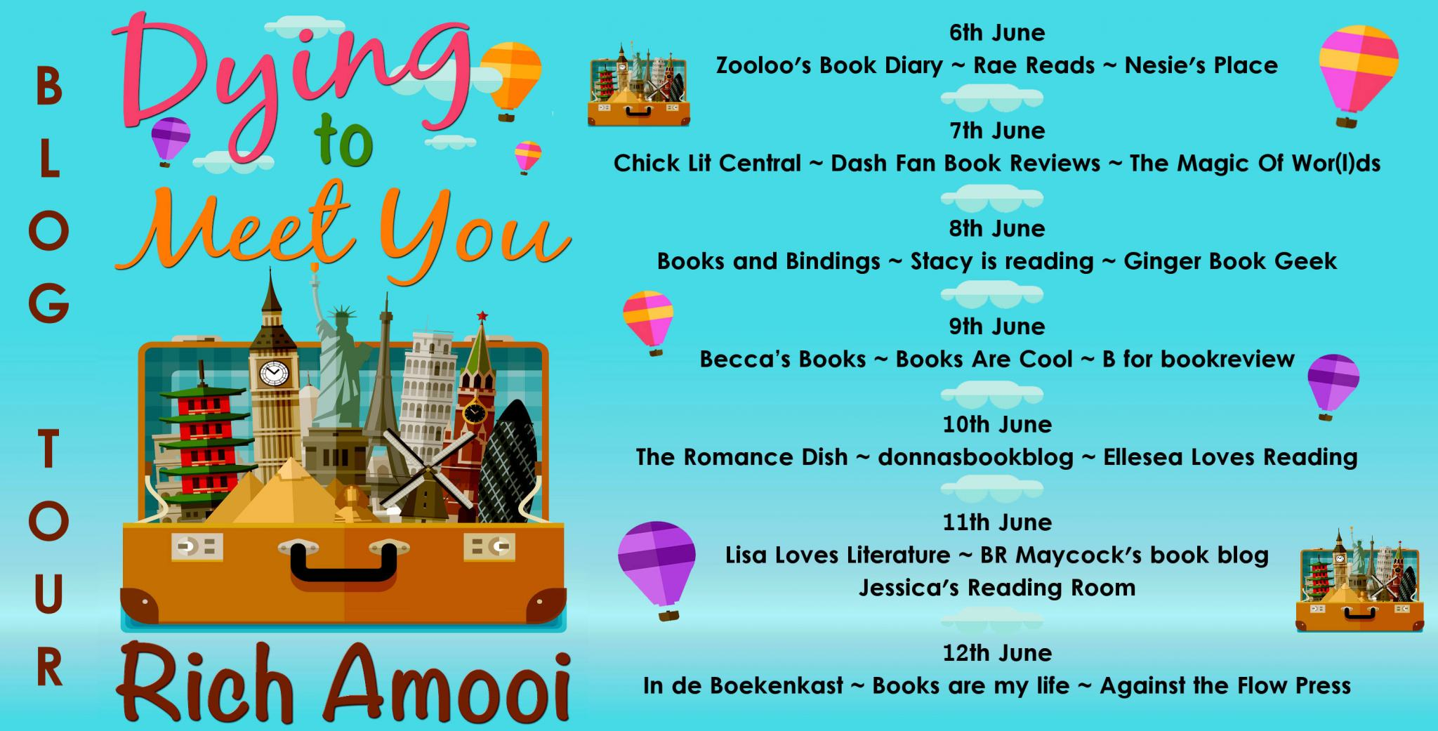 ***#BookReview of Dying to Meet You by Rich Amooi