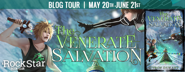 ***#BookReview of The Venerate Salvation by Troy Dukart @Venerate_Order @arnoldjaime13 @RockstarBkTours #giveaway