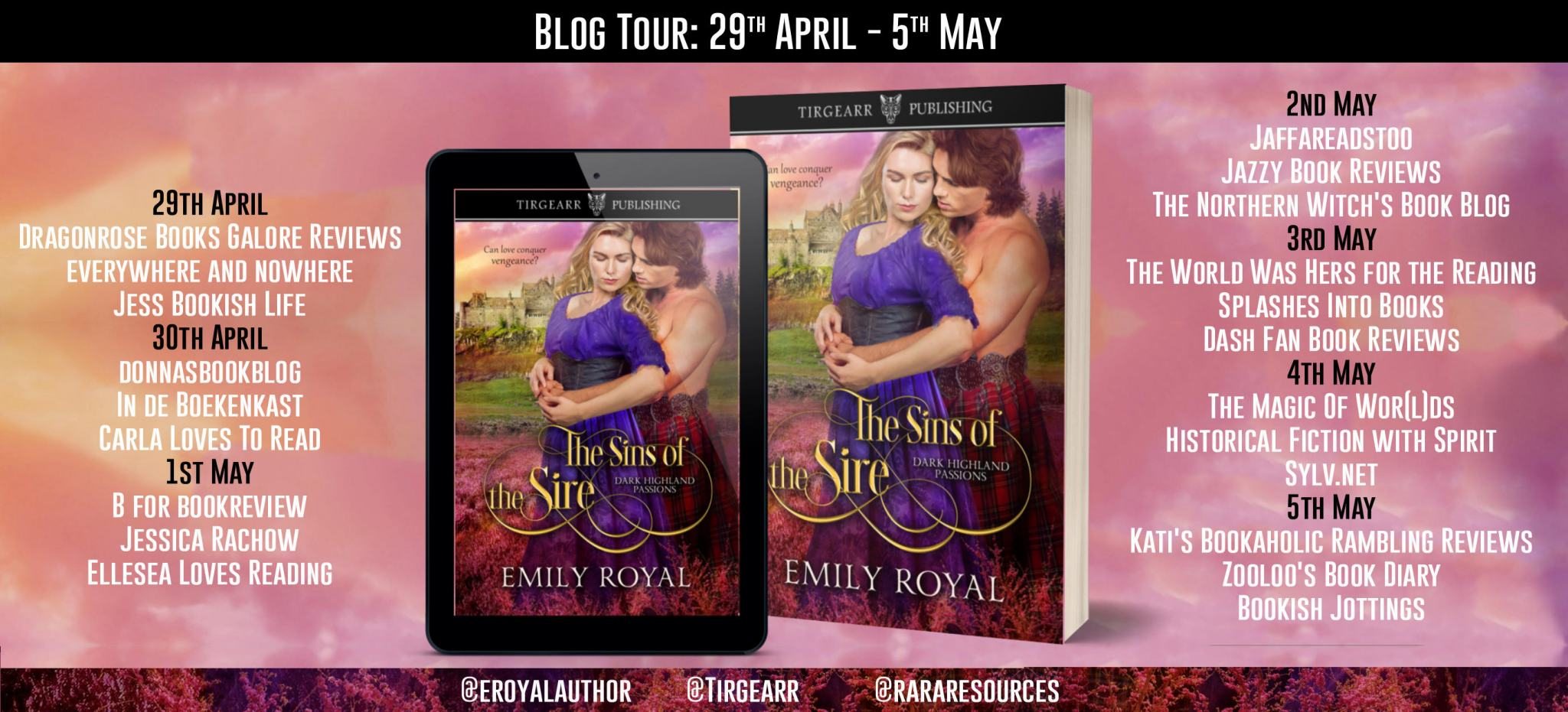 *** The Sins of the Sire by Emily Royal @eroyalauthor @rararesources @tirgearr #giveaway