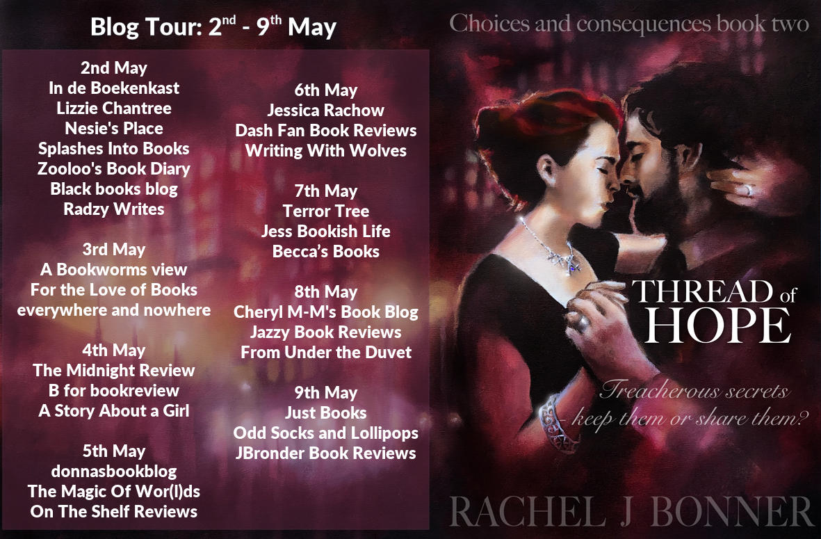***#BookReview of Thread of Hope by Rachel J Bonner @Rararesources #giveaway