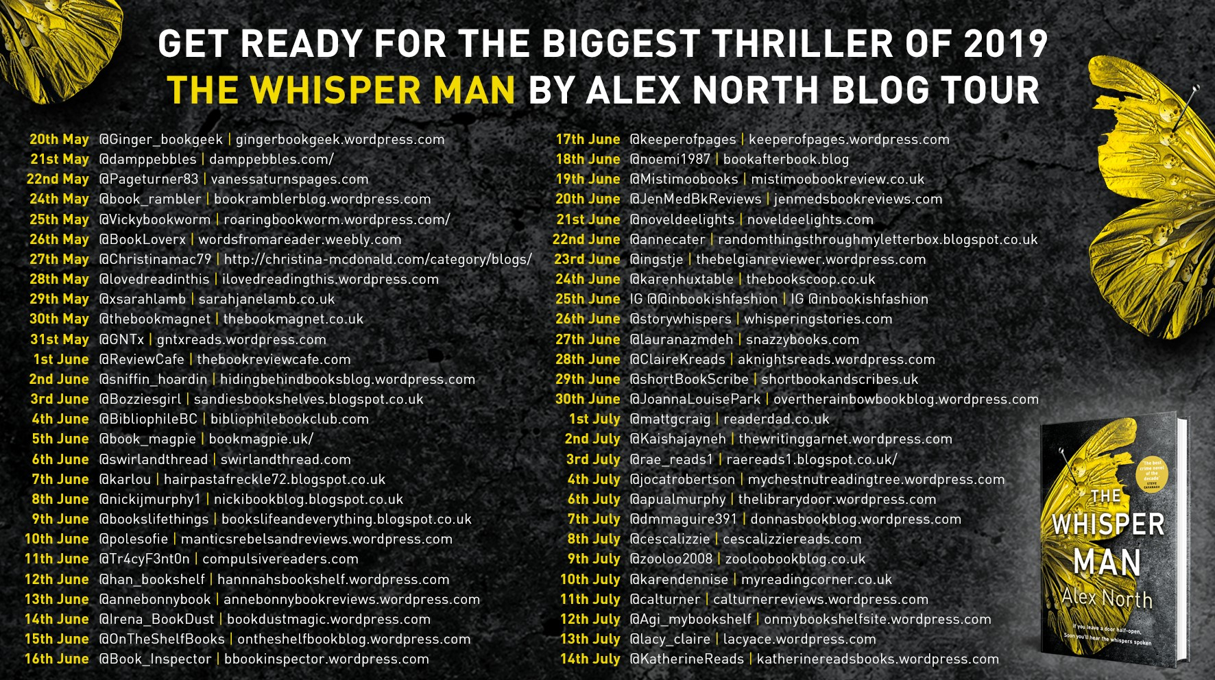 ***#BookReview of The Whisper Man by Alex North