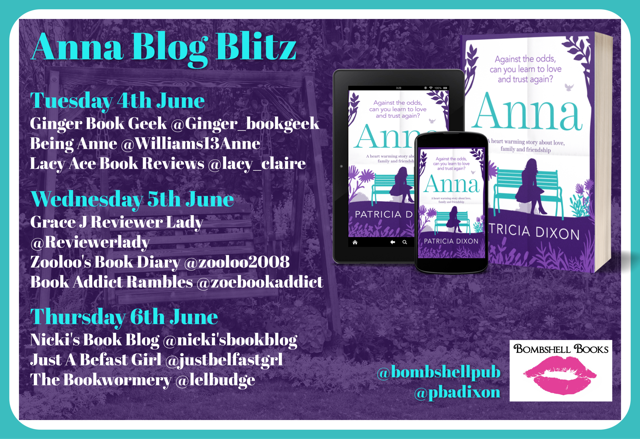 ***#BookReview of Anna by Patricia Dixon @pbadixon @bombshellpub