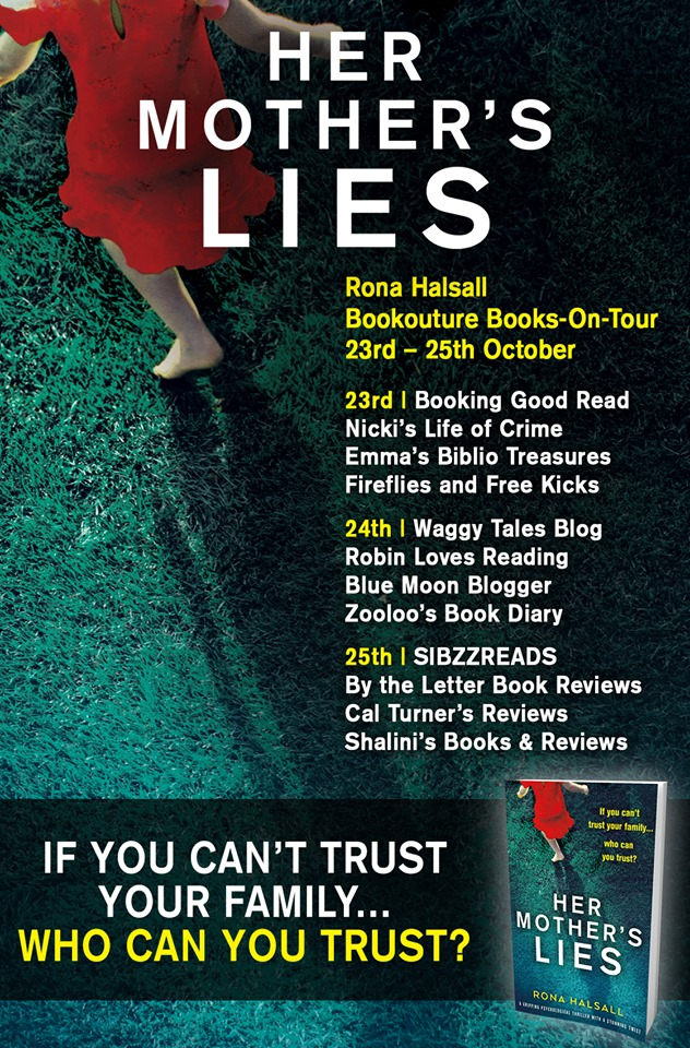 ***#BookReview of Her Mother Lies by Rona Halsall @RonaHalsallAuth @Nholten40 @Bookouture #Netgalley #HerMotherLies #BooksonTour