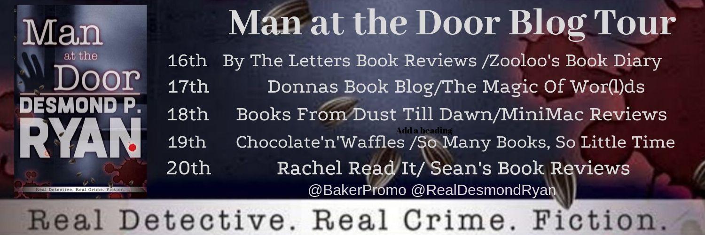 ***#BookReview of Man at the Door by Desmond P. Ryan @RealDesmondRyan @BakerPromo