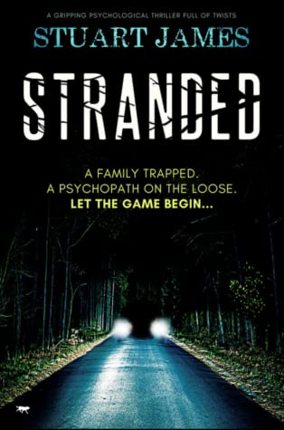 Stranded by Stuart James @StuartJames73 @BloodhoundBook #BookReview #BlogTour