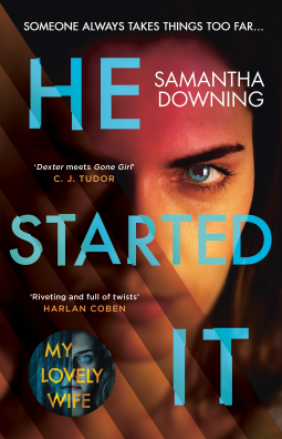 He Started It by Samantha Downing #AudioBookReview #BookReview #NetGalleyCountdown