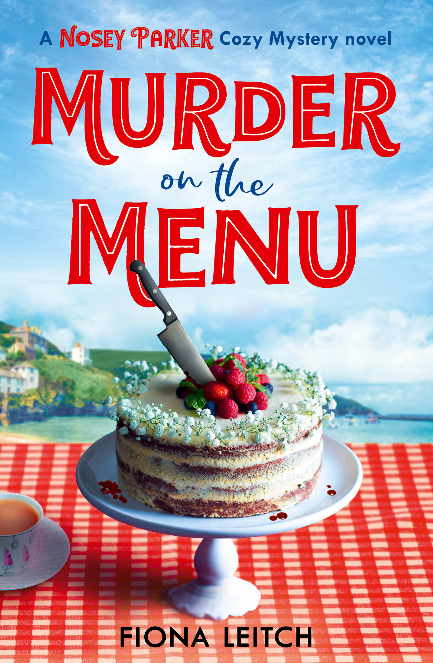 Murder on the Menu by Fiona Leitch @fkleitch @0neMoreChapter_ #BookReview #PublicationDay #NoseyParker
